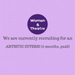 Artistic Intern opportunity